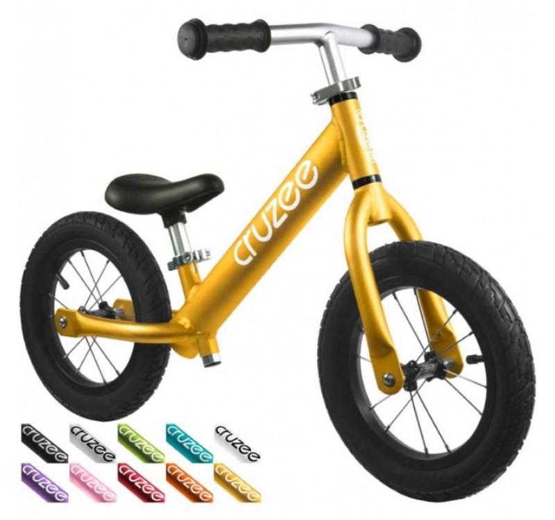 Cruzee UltraLite Air Balance Bike Gold