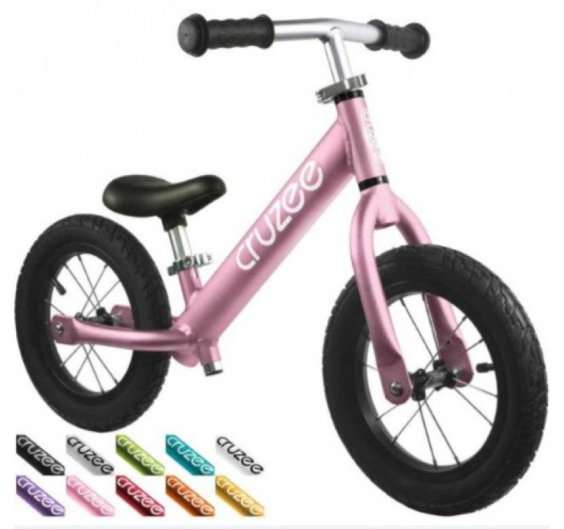 Cruzee UltraLite Air Balance Bike Pink