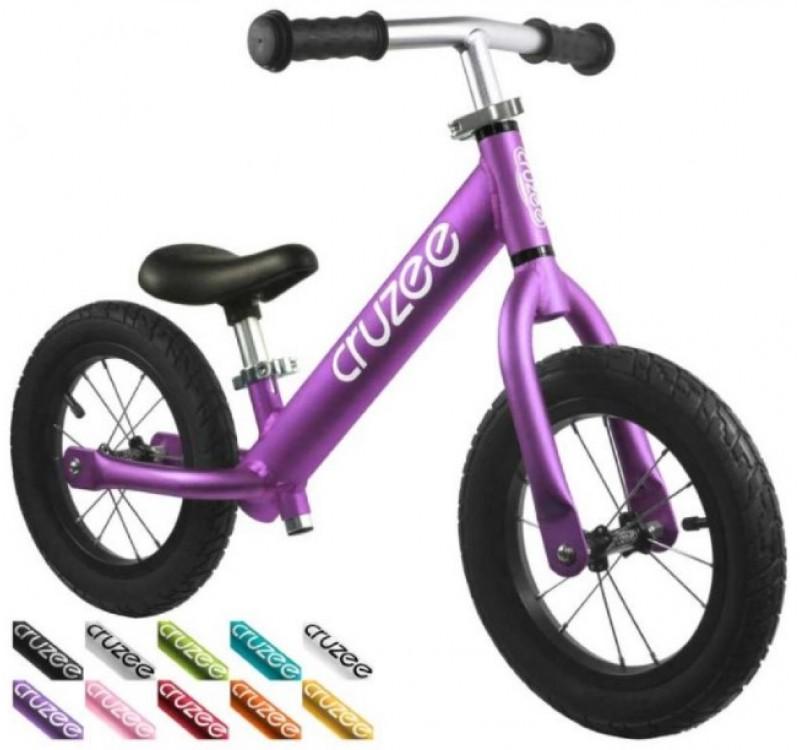 Cruzee UltraLite Air Balance Bike Purple