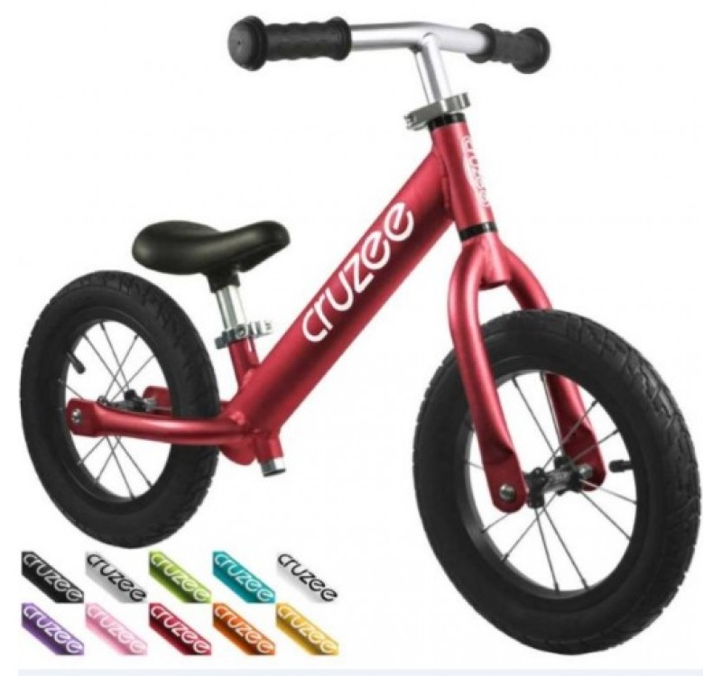 Купить Cruzee UltraLite Air Balance Bike Red