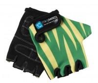 Перчатки детские защитные Green Tiger (зелёный тигр) by Crazy Safety (S)