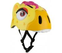 Шлем защитный Zebra Yellow by Crazy Safety (зебра жёлтая)