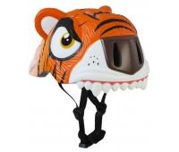 Шлем Orange Tiger by Crazy Safety 2017 (оранжевый тигр)