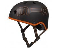 Шлем защитный Micro (Черно-оранжевый)