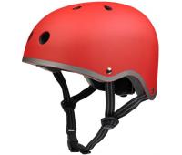 Шлем защитный Micro (красный матовый)