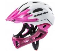 Шлем FullFace - Cratoni - C-Maniac (White-LucentPink matt)
