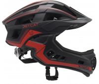 Шлем FullFace - Race (Black/Red) -  JetCat