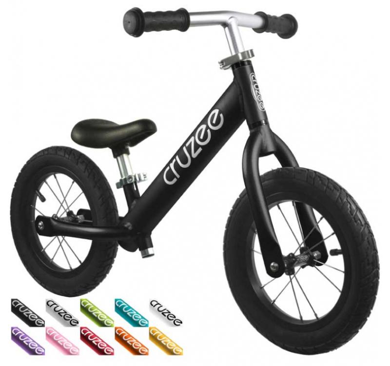 Cruzee UltraLite Air Balance Bike (Black)