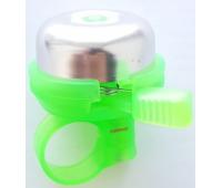 Звонок на беговел-велосипед JETCAT Green Зеленый (Механический)